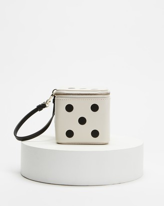Kate Spade Women's White Wallets - Roll 3D Dice Wristlet - Size One Size at The Iconic