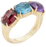 Marco Bicego Murano 18K Yellow Gold, Blue Topaz, Amethyst & Citrine Ring