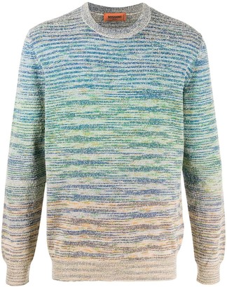 Missoni Marbled-Knit Crew Neck Jumper