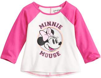 Disneyjumping Beans Disney's Minnie Mouse Baby Girl Raglan Tee by Jumping Beans