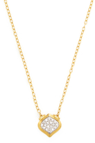 Gurhan Yellow Gold & 0.25 Total Ct. Pave Diamond Pendant Necklace