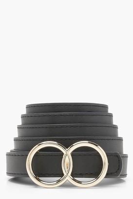 boohoo Double Ring Boyfriend Belt