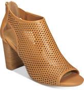 Aerosoles High Frequency Peep-Toe Booties Women's Shoes