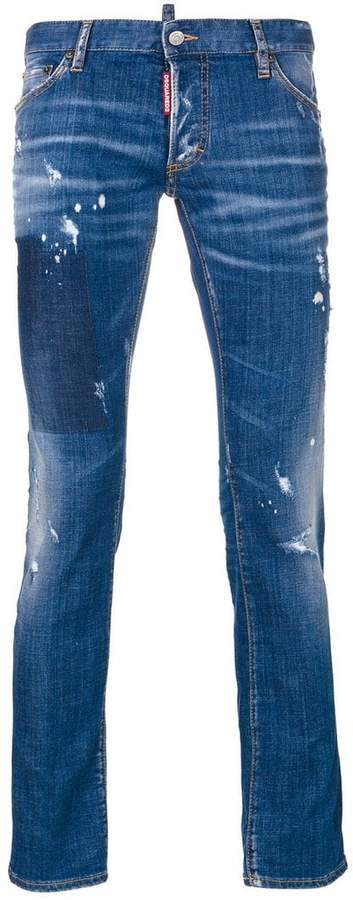 DSQUARED2 Clement straight-leg jeans