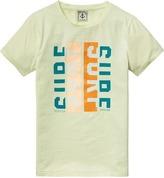Scotch & Soda Colourful Artwork T-Shirt