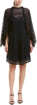 Chloé Lace Silk-Lined Shift Dress