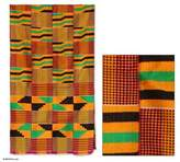 Cotton Kente Cloth, 'Waves'