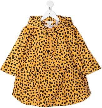 Stella McCartney Kids Leopard Pattern Rain Jacket