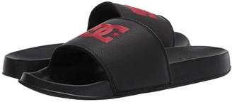 DC Slide (Black/Red) Men's Sandals