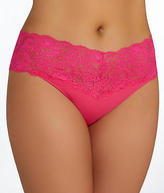 Cosabella Never Say Never Lovely Thong Plus Size Panty - Women's
