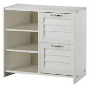 Donco Kids 2 Drawer Chest Shelves for Low Loft