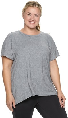 Tek Gear Women's Pleated Open Back Tee