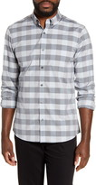 Nordstrom Slim Fit Non-Iron Check Button-Down Shirt