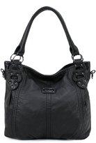Scarleton Washed Hobo Bag H153304A - Brown