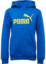 Puma Junior Essential No 1 Logo Hoody Royal Blue