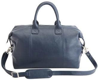 Royce New York Executive Leather Duffel Bag