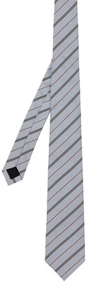 Burberry Stripe-Pattern Tie