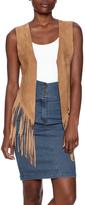 Le Beau Maroc Plain Fringe Vest