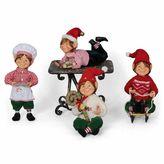 Karen Didion 4-Piece Traditional Elf Set