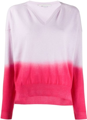 Stella McCartney Ombre Knitted Jumper