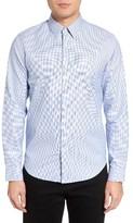 Theory Men's Sylvain Alloway Cotton Sport Shirt