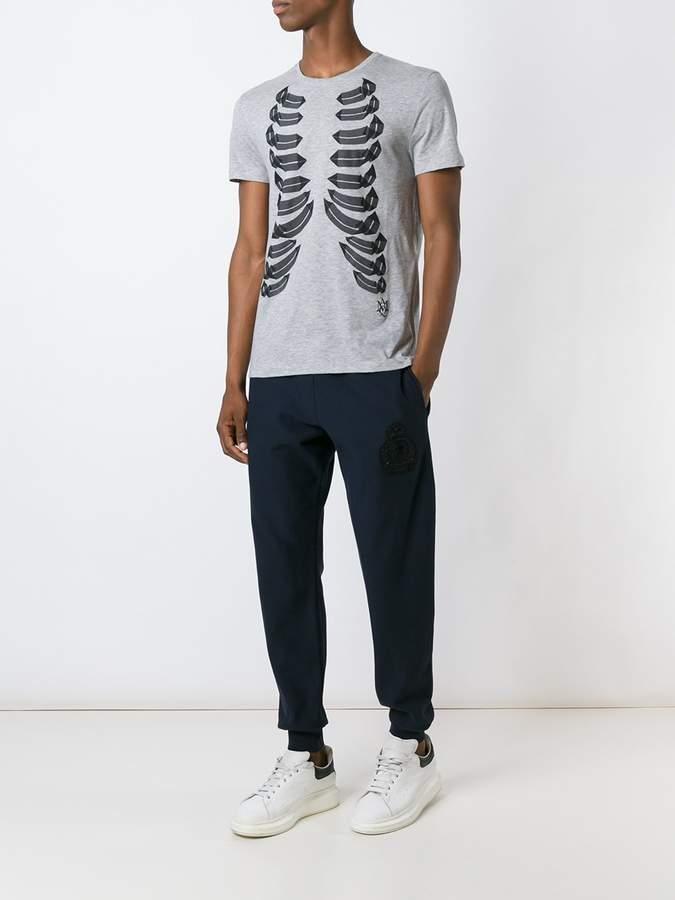 Alexander McQueen skull patch track pants