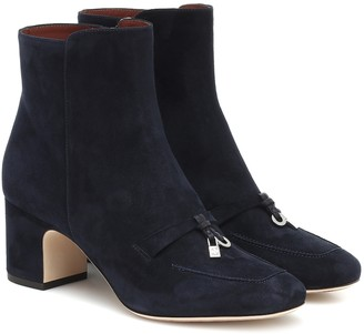 Loro Piana Charms suede ankle boots