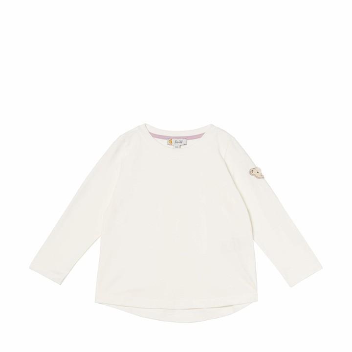 Steiff Baby Girls' T-Shirt Langarm Long Sleeve Top