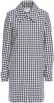 Claudie Pierlot Gingham Cotton-jacquard Coat