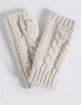 Marks and Spencer Cable Knit Gloves