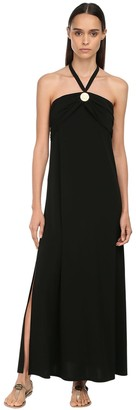 Max Mara Acetate Blend Jersey Dress