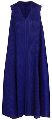 Pleats Please Issey Miyake Antelope Sleeveless A-Line Dress