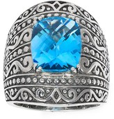 Effy Jewelry Effy 925 Sterling Silver Blue Topaz Ring, 6.65 TCW