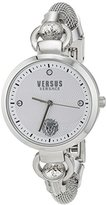 Versus By Versace Women's 'ROSLYN BRACELET' Quartz Stainless Steel Casual Watch, Color:Silver-Toned (Model: S63010016)