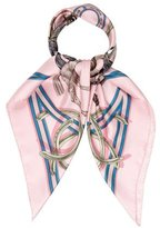 Hermes La Ronde Des Jockeys Silk Scarf
