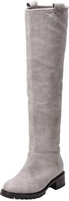 Ross & Snow Elena Weatherproof Genuine Shearling Lined Knee High Boot