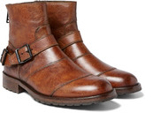 Belstaff - Trialmaster Burnished-leather Boots