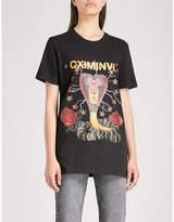 Criminal Damage Snake cotton-jersey T-shirt