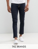 Nudie Jeans TALL Tight Long John Skinny Jeans Twill Rinsed Wash