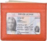 Woogwin Slim Credit Card Holder Wallet RFID Leather Card Case Sleeve ID Window