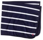Ralph Lauren French Navy Stripe Ruby Nursing Blanket - Infant