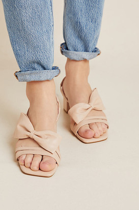 Cecelia New York Cosette Slingback Heels By in White Size 6.5