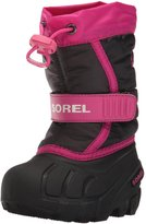 Sorel Toddler Flurry (Inf/Tod) - Haute Pink/Black - 6 Toddler