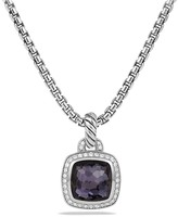 David Yurman Albion Pendant with Lavender Amyethst and Diamonds