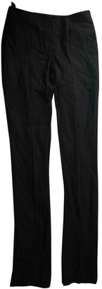 L'Wren Scott Black Wool Trousers for Women