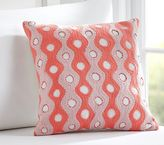 Pottery Barn Kids Wavy Embroidered Sham