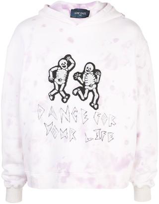 Lost Daze dancing skeleton hoodie