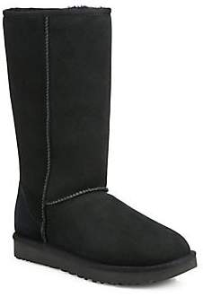 UGG Women's Classic Tall II Shearling-Lined Suede Boots