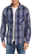 Schott NYC Men's Plaid Flannel Shirt