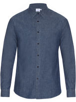 Sunspel Washed-cotton shirt